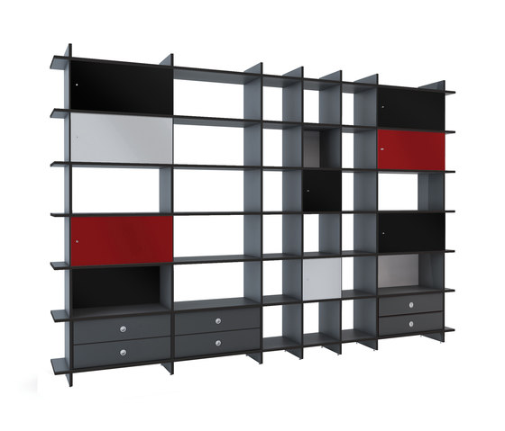 QR A-NA Shelf by OLIVER CONRAD | Office shelving systems