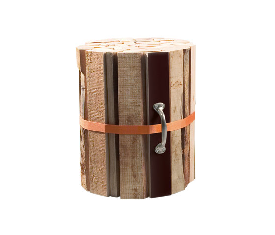 CR Natural wood stool de OLIVER CONRAD | Taburetes