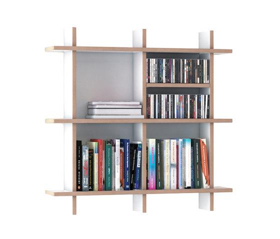 QR W-NA Shelf di OLIVER CONRAD | Sistemi scaffale ufficio