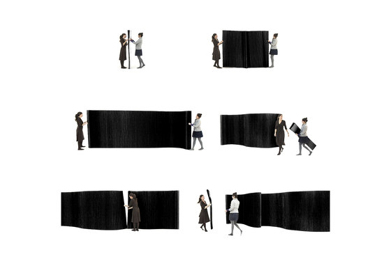 textile softwall by molo | Space dividers