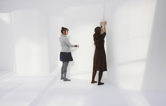 softwall | white textile de molo | Éléments de séparation