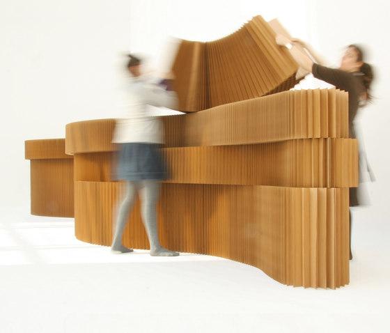 kraft paper softblocks de molo | Éléments de séparation