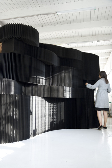 kraft paper softblocks von molo | Raumteilsysteme