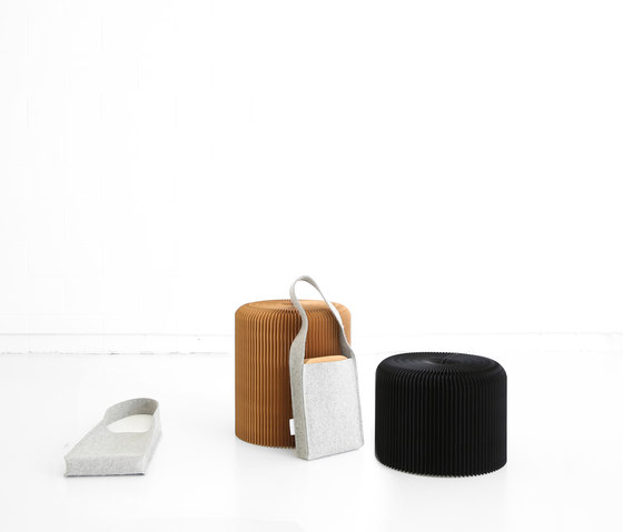 softseating fanning stool + bench de molo | Poufs
