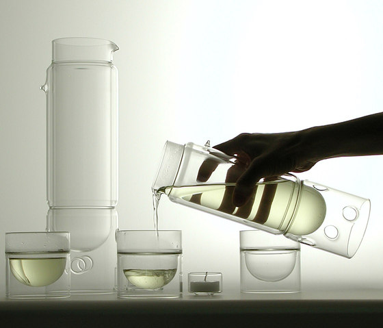 float glassware | tea lantern by molo | Decanters
