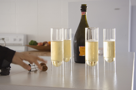 float glassware | champagne flutes by molo | Champagne glasses
