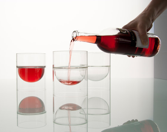 float red wine glass di molo | Wine glasses