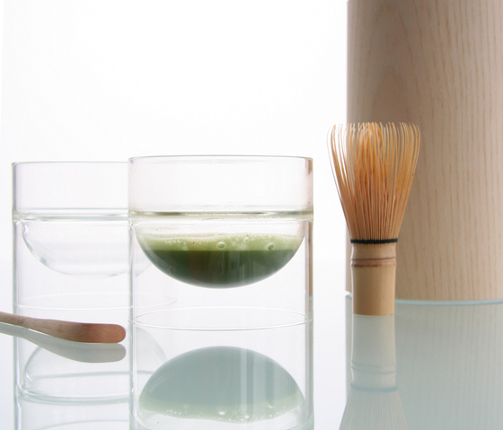 float glassware | matcha bowl by molo | Bowls