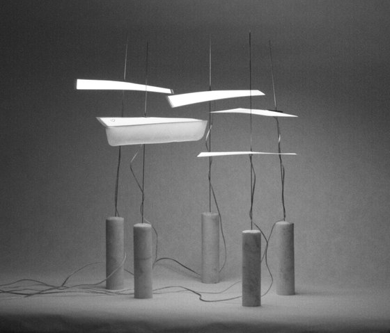 love letter to the Castiglioni brothers by molo | Lighting objects