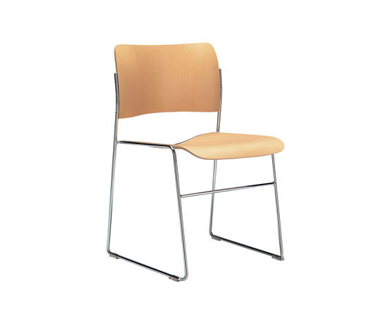 40/4 chair by HOWE | Visitors chairs / Side chairs