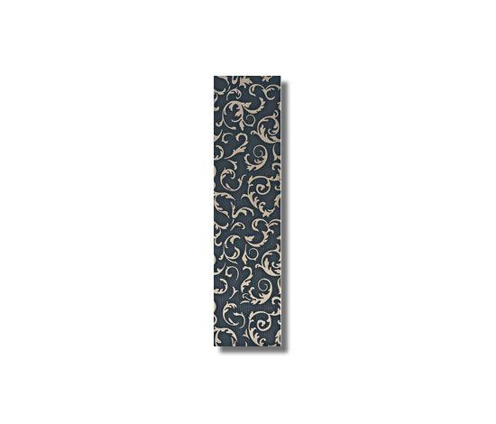 Satin Decoro Baroque Noir Tile de Refin | Baldosas