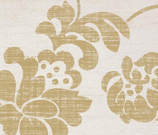 Stile Damasco Oro Bianco Tile de Refin | Baldosas