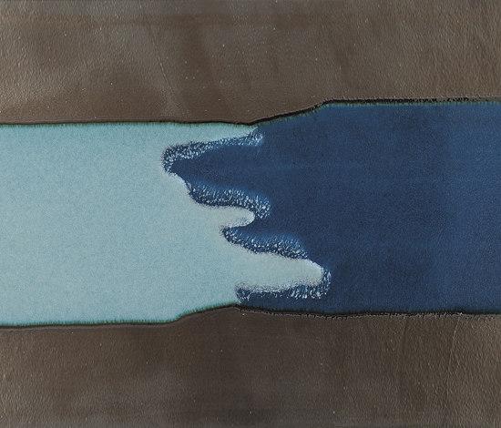 Velvet Ground Fusion Blu Tile by Refin | Ceramic tiles