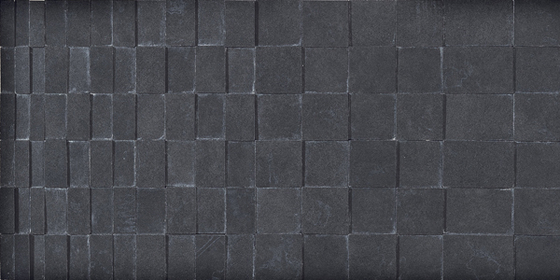 Visual Mosaico Rilievo Carbon Tile by Refin | Ceramic tiles