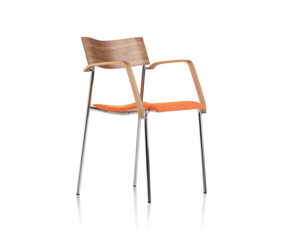 Campus Armchair by Lammhults | Visitors chairs / Side chairs
