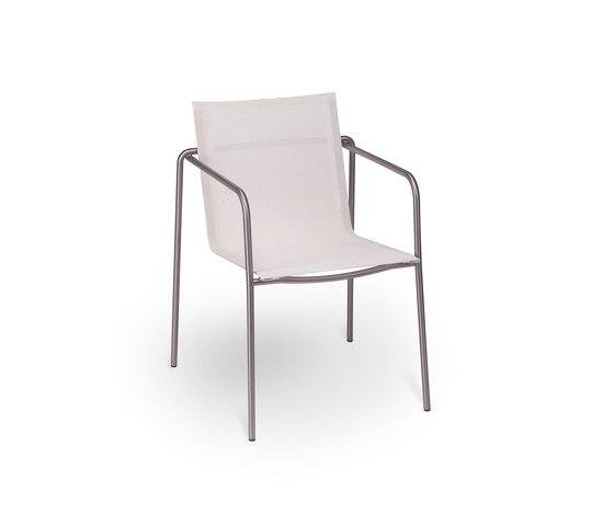 Taku armchair de Fischer Möbel | Sillas de jardín