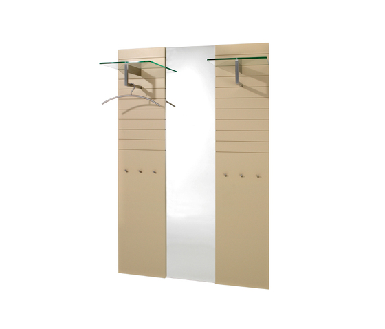 SIRIUS Hall-stand programme by Schönbuch | Built-in wardrobes