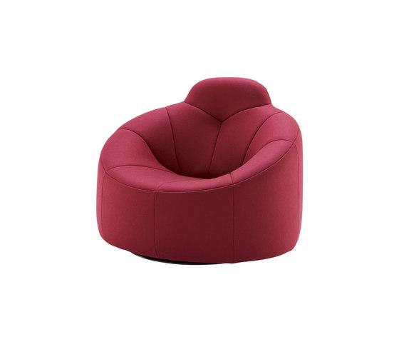 Pumpkin | Drehbarer Sessel Mit Armlehnen Hochlehner von Ligne Roset | Sessel