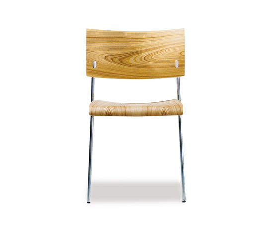 Giorgio stacking chair de Lampert | Sillas multiusos