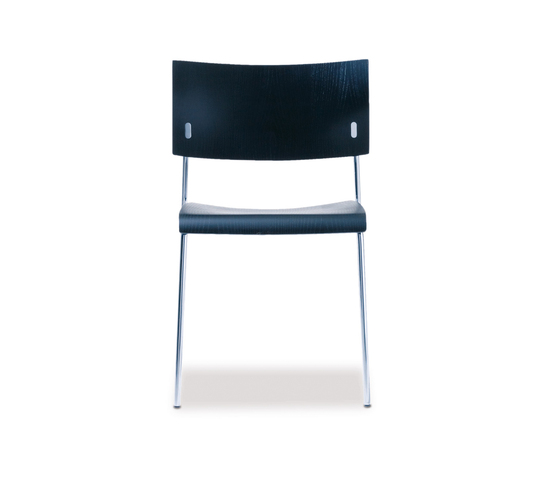 Giorgio stacking chair de Richard Lampert | Chaises polyvalentes