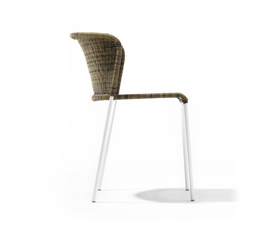 Santa Lucia Rattan Chair de Richard Lampert | Sillas para restaurantes