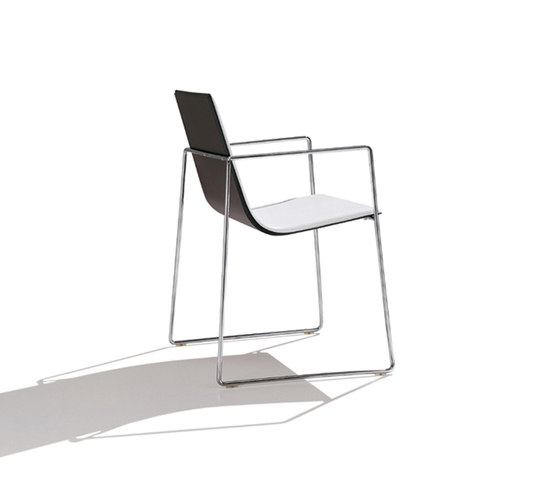 Lineal SO 0585 by Andreu World | Visitors chairs / Side chairs