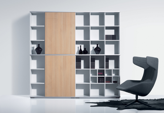corpus-c by planmöbel | Office shelving systems