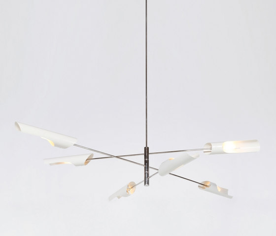 Torroja Cross Chandelier No 425 di David Weeks Studio | Illuminazione generale
