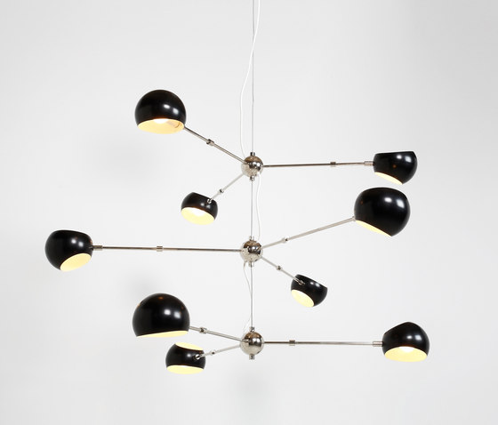 Tri Boi Chandelier No 418 by David Weeks Studio | General lighting