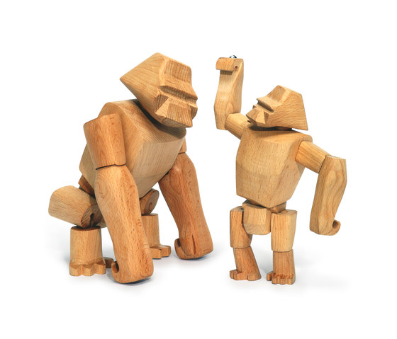 Hanno the Wooden Gorilla de David Weeks Studio | Jouets