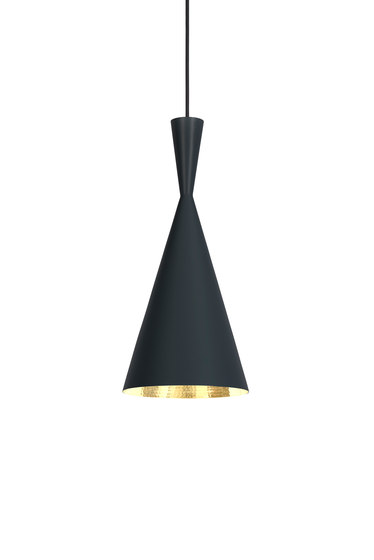 Beat Tall Pendant Black by Tom Dixon | General lighting
