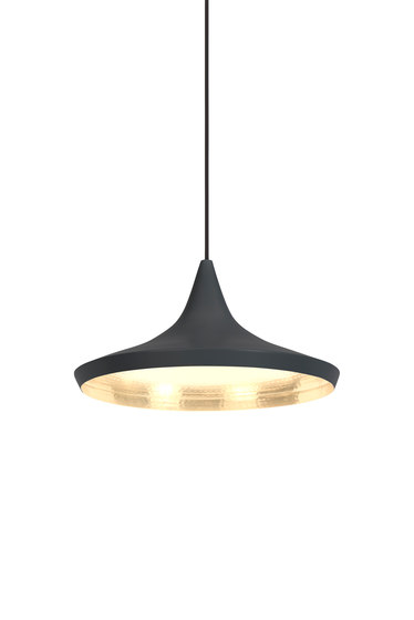 Beat Wide Pendant Black de Tom Dixon | Iluminación general