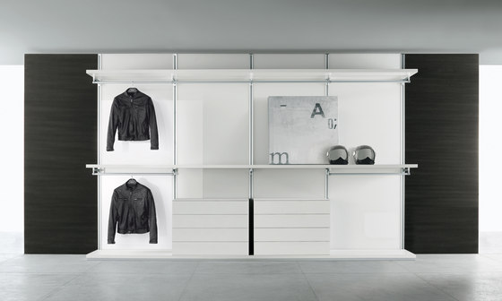 Dress Bold by Rimadesio | Walk-in wardrobes