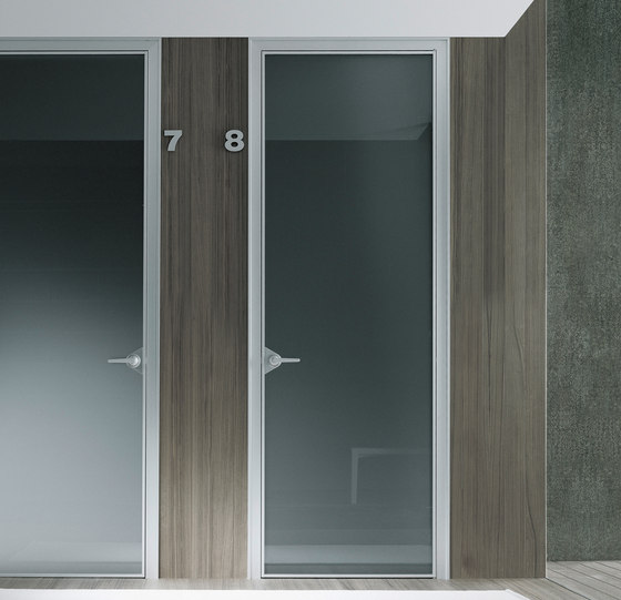 Ghost by Rimadesio | Glass room doors