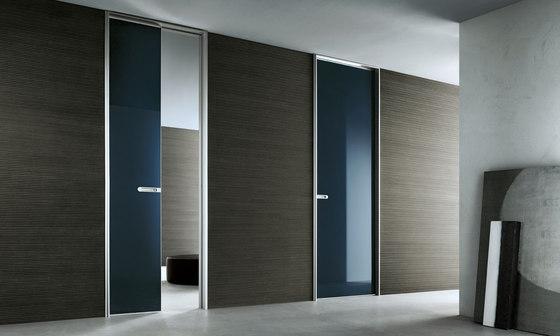 Link+ slim by Rimadesio   Glass room doors
