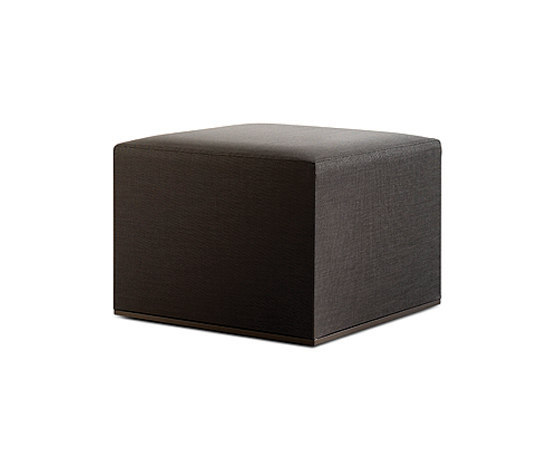 Mood Low pouf by Bivaq | Garden stools