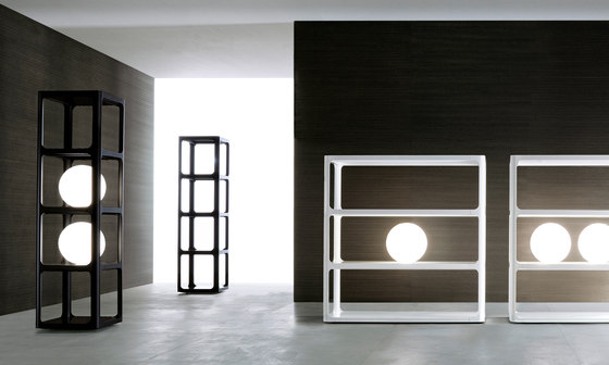 Sixty by Rimadesio | Shelving systems
