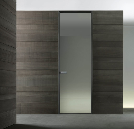 Spin by Rimadesio | Glass room doors