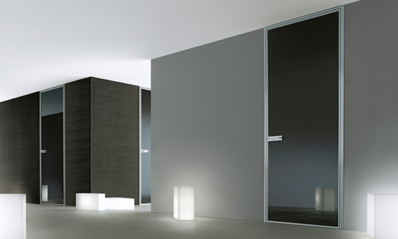 Spin slim by Rimadesio | Glass room doors