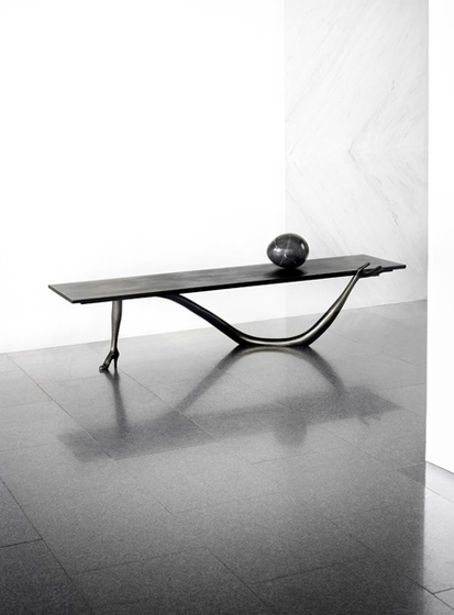 Leda Low Table Black Label di BD Barcelona | Tavolini salotto