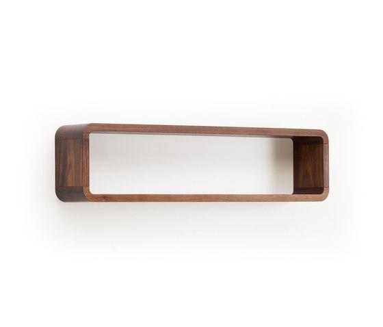 COM:CI de Holzmanufaktur | Baldas / estantes de pared