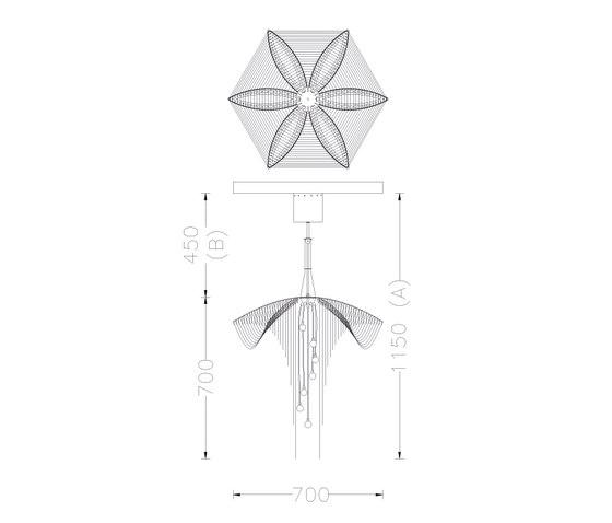 Fuschia - 700 de Willowlamp | Iluminación general