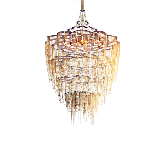 Protea - 700 - suspended di Willowlamp | Oggetti luminosi