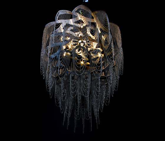 Protea - 700 - suspended von Willowlamp | Lichtobjekte