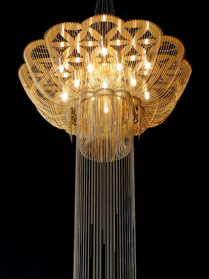 Flower of Life - 700 - suspended by Willowlamp | Suspended lights