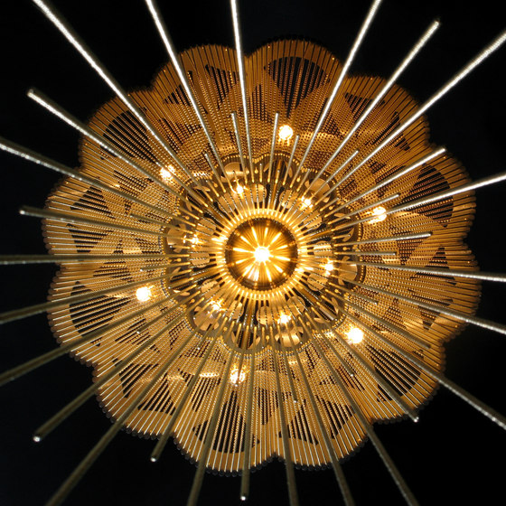 Flower of Life - 700 - suspended by Willowlamp | Lighting objects