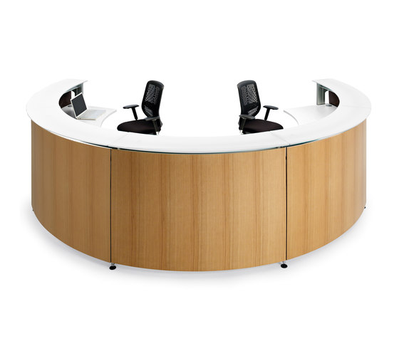 Informa Plywood by actiu | Reception desks
