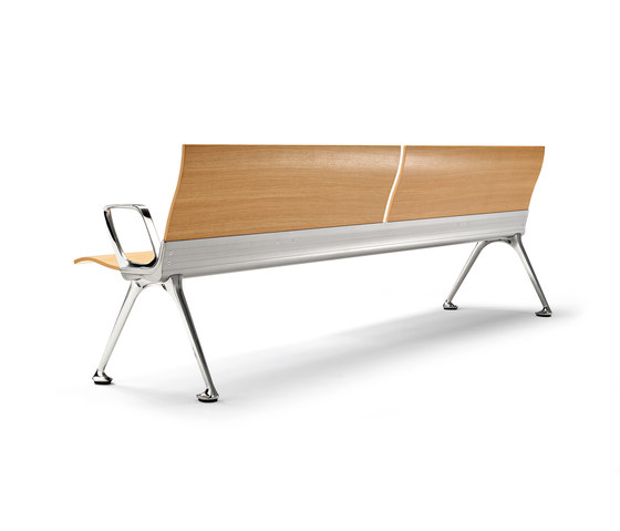 Transit bench by actiu   Waiting area benches
