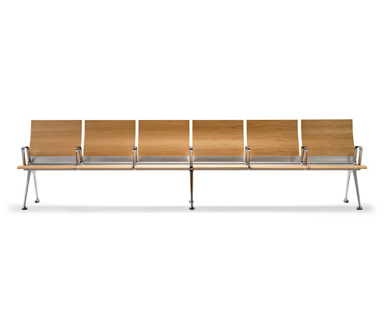 Transit bench by actiu | Waiting area benches