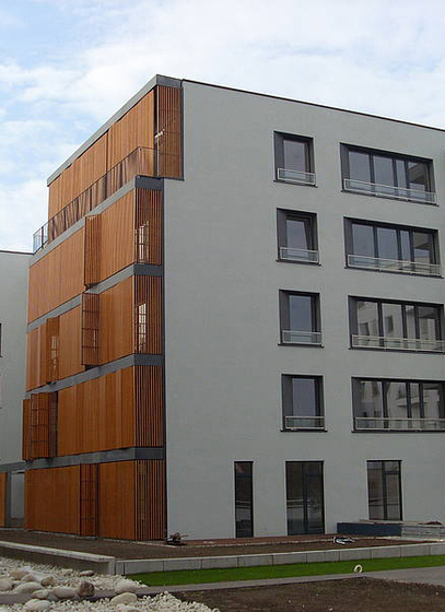 concrete skin | Apartments Wilanowska Warsaw by Rieder | Facade systems